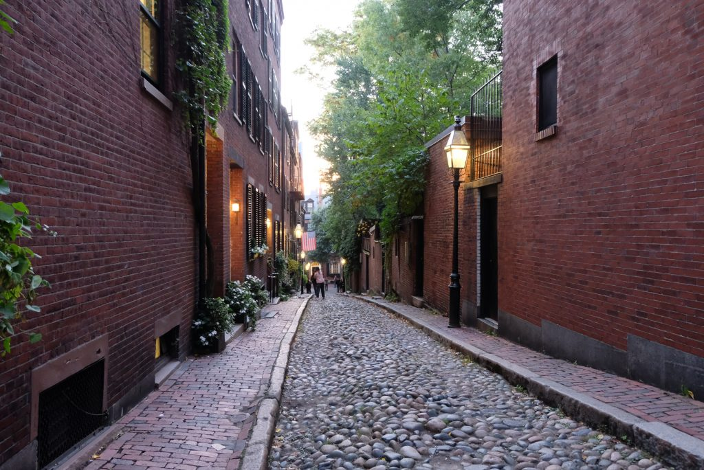Beacon Hill Acorn Street