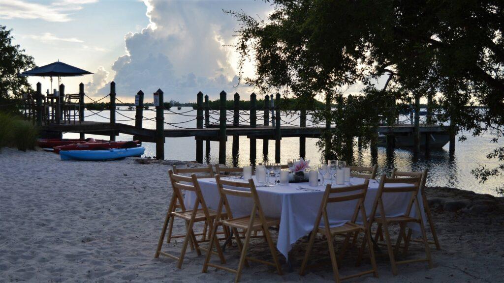 Cena al tramonto a Key West