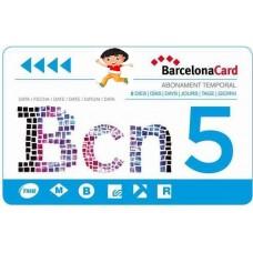 BARCELLONA CARD -  3 GIORNI BAMBINO 4-12 ANNI