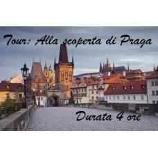 PRAGA - TOUR ALLA SCOPERTA DI PRAGA ADULTI E BAMBINI (PREZZO A PERSONA)