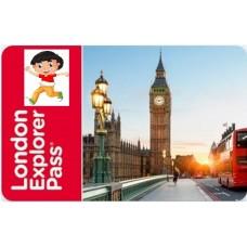 LONDRA EXPLORER PASS - 5 ATTRAZIONI BAMBINO 3-15 ANNI
