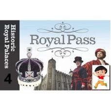 LONDRA ROYAL PASS- INGRESSO 4 PALAZZI BAMBINO 5-15 ANNI
