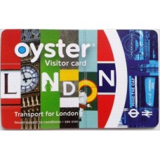 Londra Oyster Card - 15£