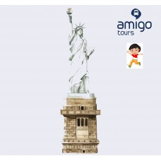 NEW YORK TOUR DELLA STATUA DELLA LIBERTA' + LIBERTY ISLAND + MUSEO - BAMBINO 3-11 ANNI